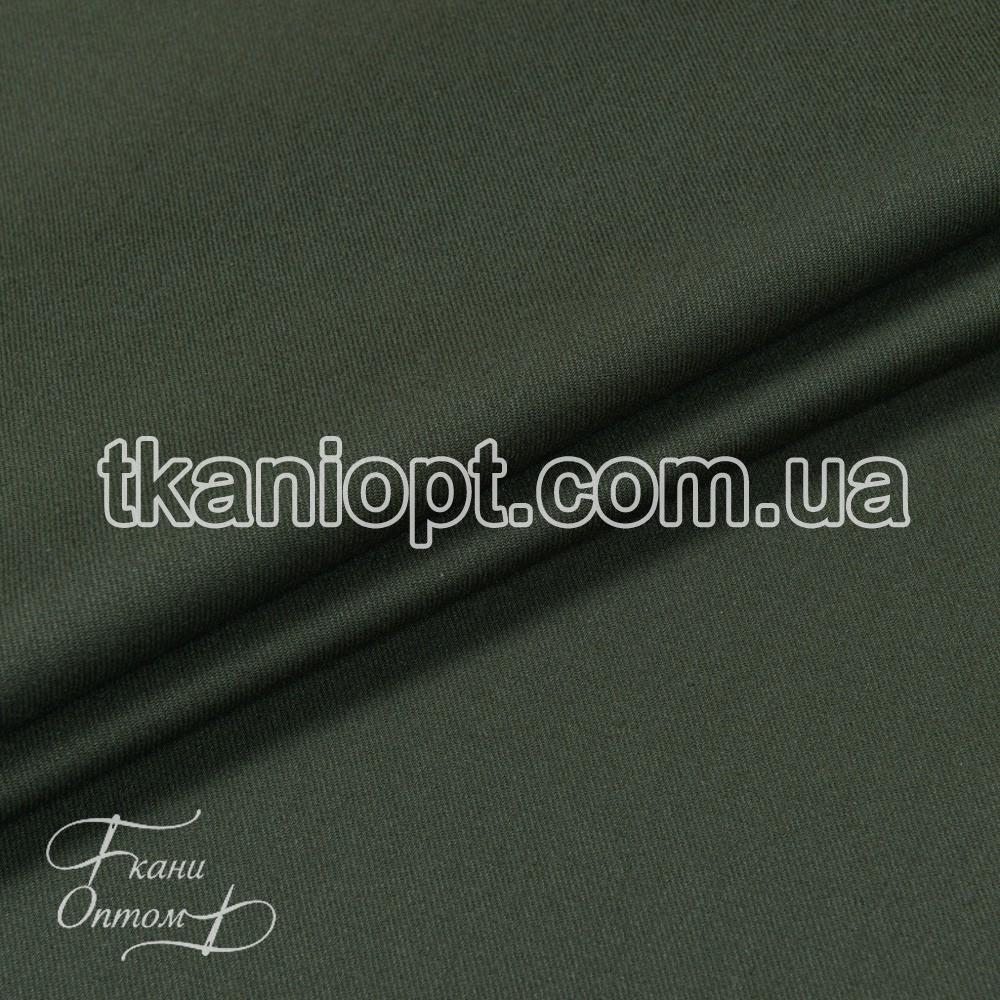 Ткань Грета однотонный 210 gsm (хаки)