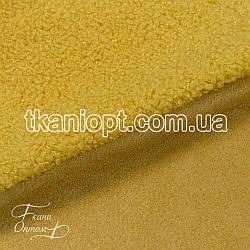Ткань Дубляж на меху (горчица)