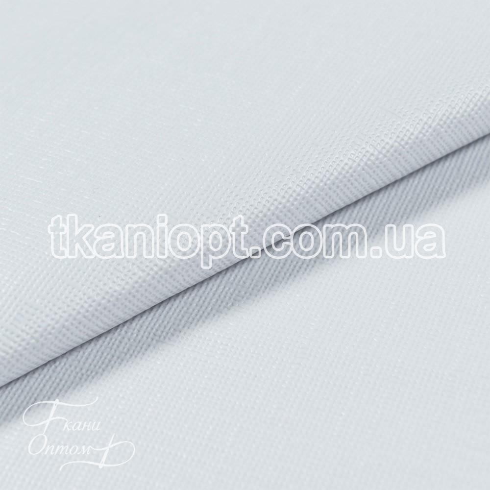 Ткань Мулетон тесненный (белый)