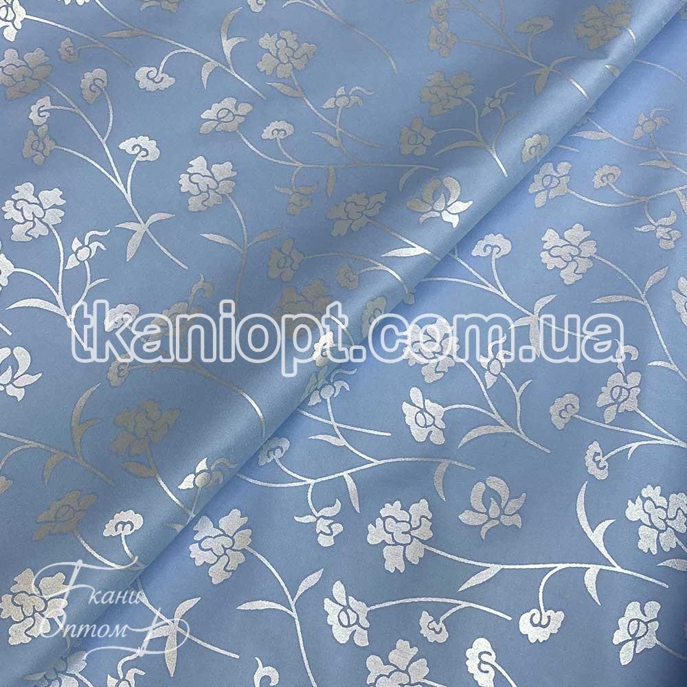 Ткань Тик 100% полиэстер (голубой)