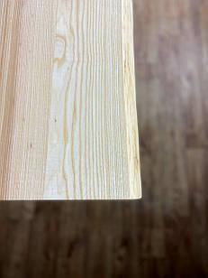 Живий край стільниці на кухню з масиву дерева