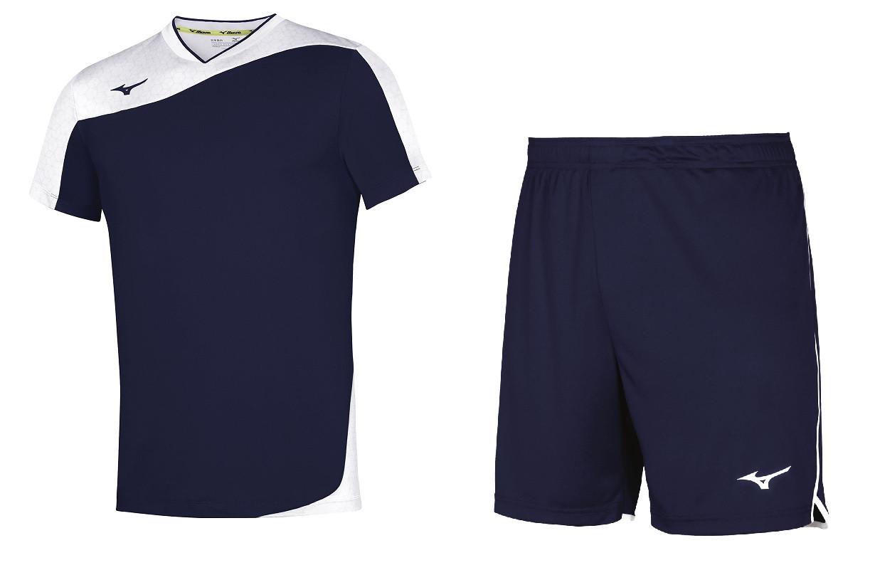 Комплект волейбольной формы Mizuno Premium Myou Tee / High Kyu Short V2EA7004-14 / V2EB7001-14