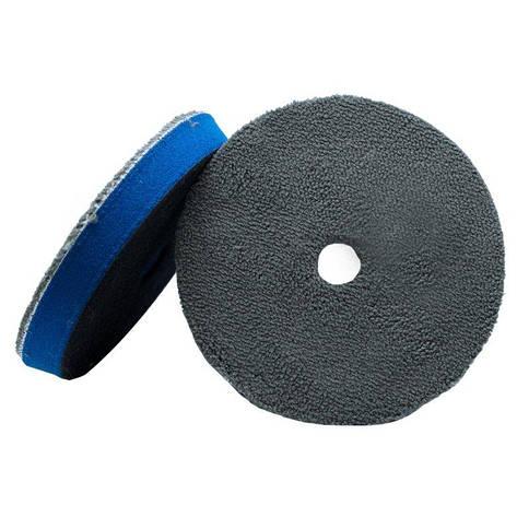 Гибридный микрофибровый полировальный круг 70% микрофибра и 30% шерсть, фото 2