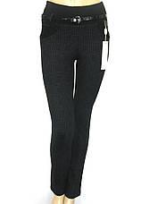 Жіночі трикотажні штани на резинці Victory, фото 3