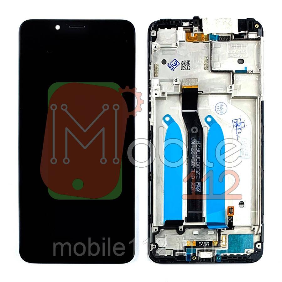 Экран (дисплей) Xiaomi Redmi 6, Redmi 6A M1804C3DG M1804C3DH M1804C3DI + тачскрин черный оригинал Китай с