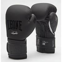 Боксерські рукавички Leone Mono Black 10 ун., фото 1