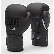 Боксерські рукавички Leone Mono Black 10 ун.