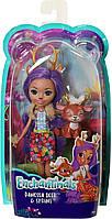 Кукла с питомцем Enchantimals FXM75 Кукла Данесса Оления, 15 см, фото 1