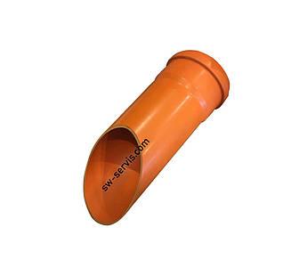 Труба для каналізації пвх 110*1 метр