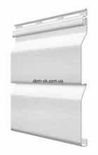 Фасадный виниловый Fasiding сайдинг цвет Хлопок 3,85 Х 0,255 м