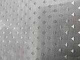 Шторка для ванной текстиль 180х180 мокко, фото 2