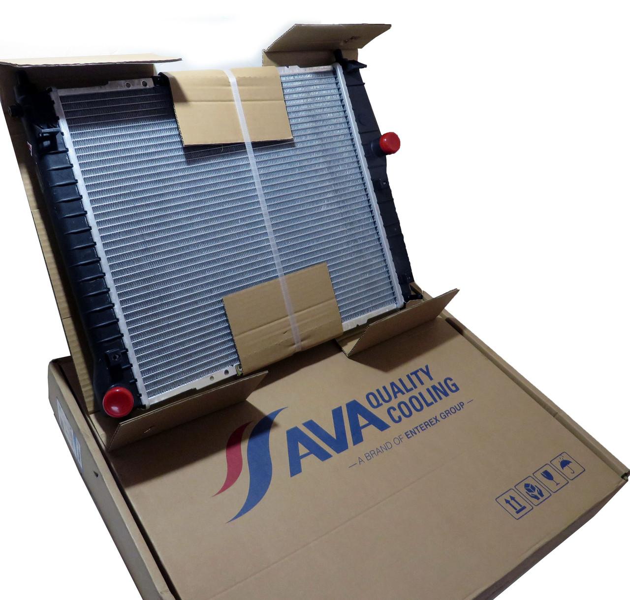 Радиатор основной Авео 1.5 МТ 02-04 AVA, DWA2066