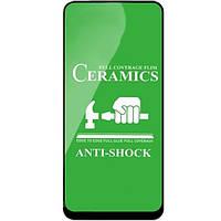Защитное стекло-пленка Fiji Ceramics для Asus Zenfone 7 (ZS670KS) / 7 Pro черный Full Glue 0,26 мм в упаковке