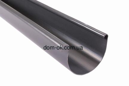 Profil Желоб пластиковый ø 130 мм, длина 3м RAL 7024 графит