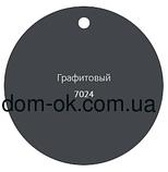 Profil Труба водосточная ø 100 мм, длина  3м, 4м RAL 7024 графит, фото 6