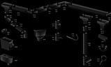 Profil Труба водосточная ø 100 мм, длина  3м, 4м RAL 9005 черный, фото 7