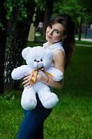 Плюшевый Мишка Рафаэль 50 см, Подарок для девушки, детям, Белый