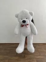 Мишка большой плюшевый 200 см, мягкий медведь, подарок для девушки на день рождения, белый