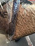 Платье фабричная вязка. Качество СУПЕР шерсть, мохер, р.УН (42-48), 2 цветов, код 6020К, фото 3