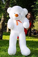 Плюшевый медведь большой 1,8 м, мягкий мишка, подарок для девушки, детям на день рождения, белый