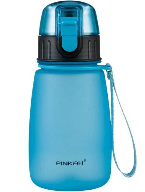 Бутылка для воды пластиковая Pinkah TRITAN Sports PJ-748T, 460 мл, BPA Free, синяя с черным