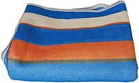Простынь с электроподогревом Electric Blanket 5714 150х160 см, синяя в полоску, фото 2