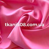 Ткань Габардин Розовый