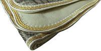 Электропростыня, термопростынь Electric Blanket 7417 150х120 см, серая клетчатая, фото 3