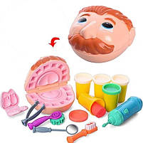 Набор теста для лепки Fun game Вправний стоматолог 7310, фото 3