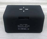 Умные часы с беспроводной зарядкой и LED-подсветкой MHZ SY-W0258, черные, фото 6