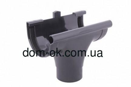 Profil Ливнеприемник проходной, система 90/75 RAL 7024 графит