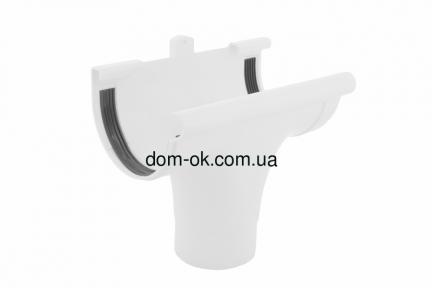 Profil Ливнеприемник проходной, система 90/75 RAL 9016  белый