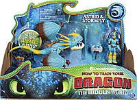 Dreamworks Dragons, Stormfly and Astrid Как приручить дракона Дракон Громгильда и Астрид, фото 1