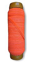 Резинка бельевая ажурная оранжевый, резинка для трусов 10 мм намотка 50 метров