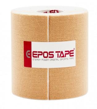 Кинезио тейп EPOS TAPE 10cм х 5м, бежевый (телесный)
