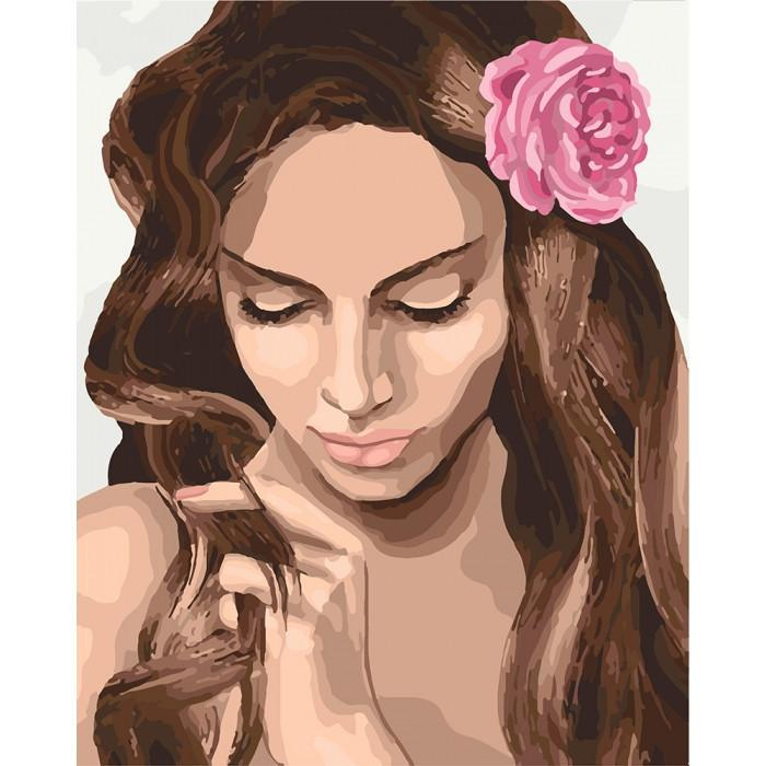 Картина рисование по номерам Идейка нежная красота 40х50см КНО4687 набор для росписи, краски, кисти, холст
