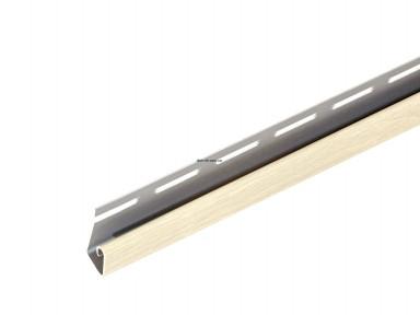 Планка стартовая для софита АйДахо  в цвет, длина 3.05м белый