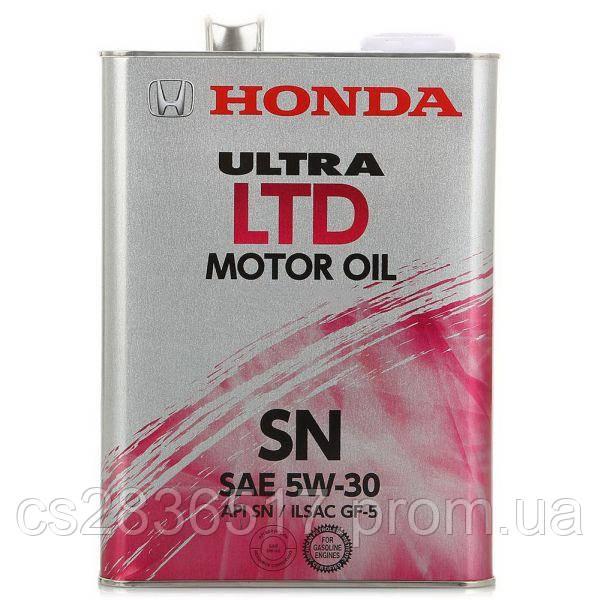 Моторное масло Honda ULTRA LTD 5W30 4л
