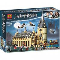 Конструктор Bela Гарри Поттер 11007 Большой зал Хогвартс, 938 деталей, реплика Harry Potter 75954, фото 1