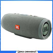 Портативная колонка JBL CHARGE 3+ - беспроводная водонепроницаемая Bluetooth колонка Серая (Реплика), фото 3