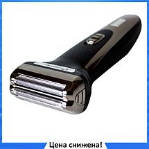 Машинка для стрижки Gemei GM-598 3в1 - машинка для стрижки волос, триммер, бритва, фото 3
