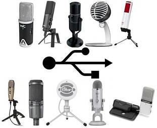 USB мікрофони