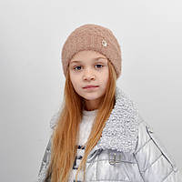 Дитяча шапка NordNeo 5549 беж