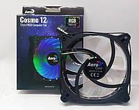 Кулер для корпуса AeroCool Cosmo 12 FRGB Molex (4718009158597) Новый!, фото 1