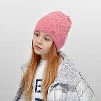 Детская шапка NordNeo 5549 корал