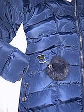 Куртки зимние на девочек оптом, Nature, 10-16 рр, фото 3