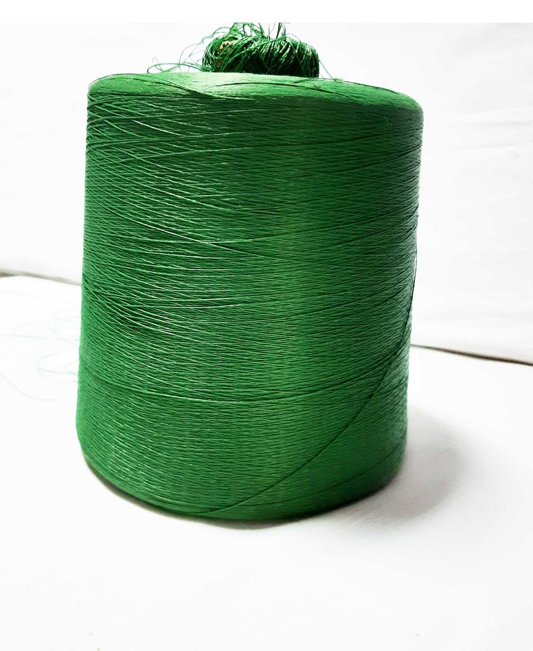 Пряжа бобинная Віскоза від Gruppo Filpucci колір зелений