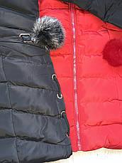 Куртки зимові на дівчаток оптом, Nature, 10-16 рр, фото 3