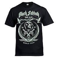 Футболка  BLACK SABBATH - The End World Tour