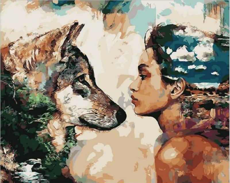 Картина рисование по номерам Mariposa Одной крови 40х50см Q1814 набор для росписи, краски, кисти, холст